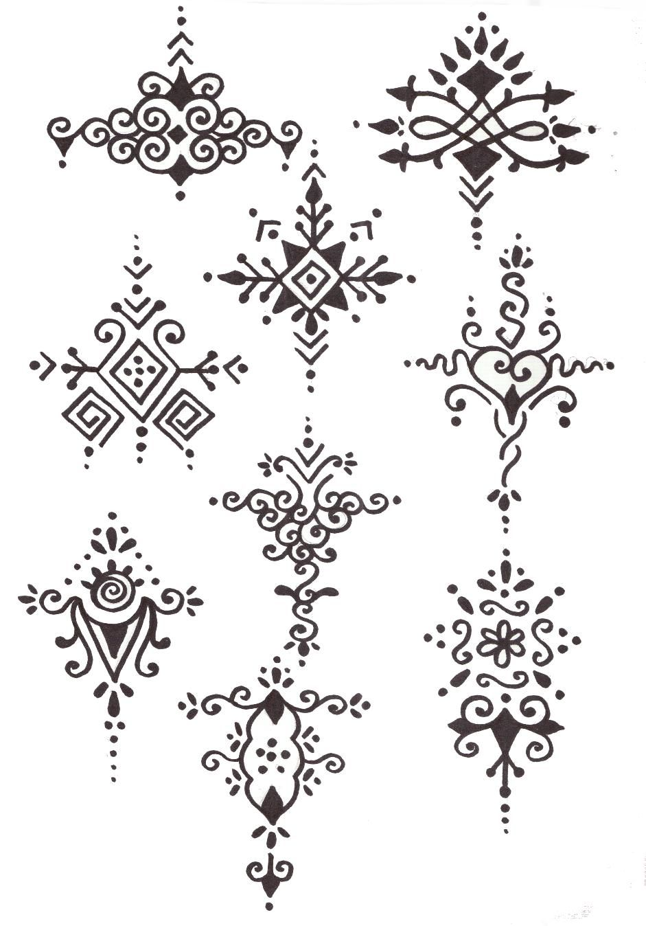 3abacf8aa Geography for Kids: India henna designs to go with my henna arm ...