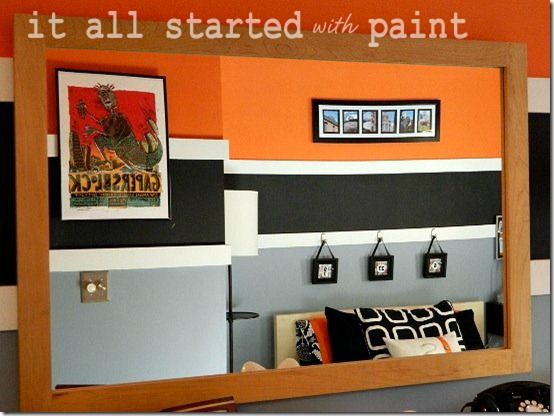 Betty Or Veronica It All Started With Paint Cuartos Juveniles Colores Cuartos Kids room design orange gray