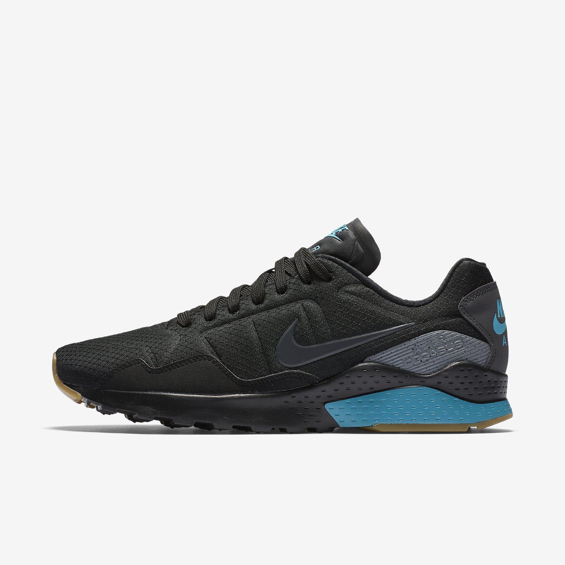 1b22f703e662 Nike Air Zoom Pegasus 92 Men s Shoe  Black Gamma Blue Fire Pink ...