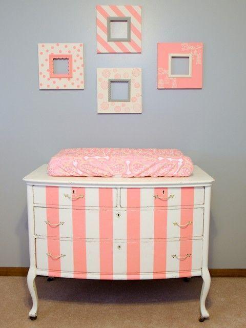 3-pintar-muebles-de-color-coral   Coral y salmón   Pinterest ...