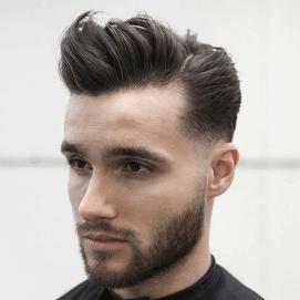Frisur Ohne Ubergang Frisuren Mens Hairstyles Pompadour Pompadour Hairstyle Mens Hairstyles