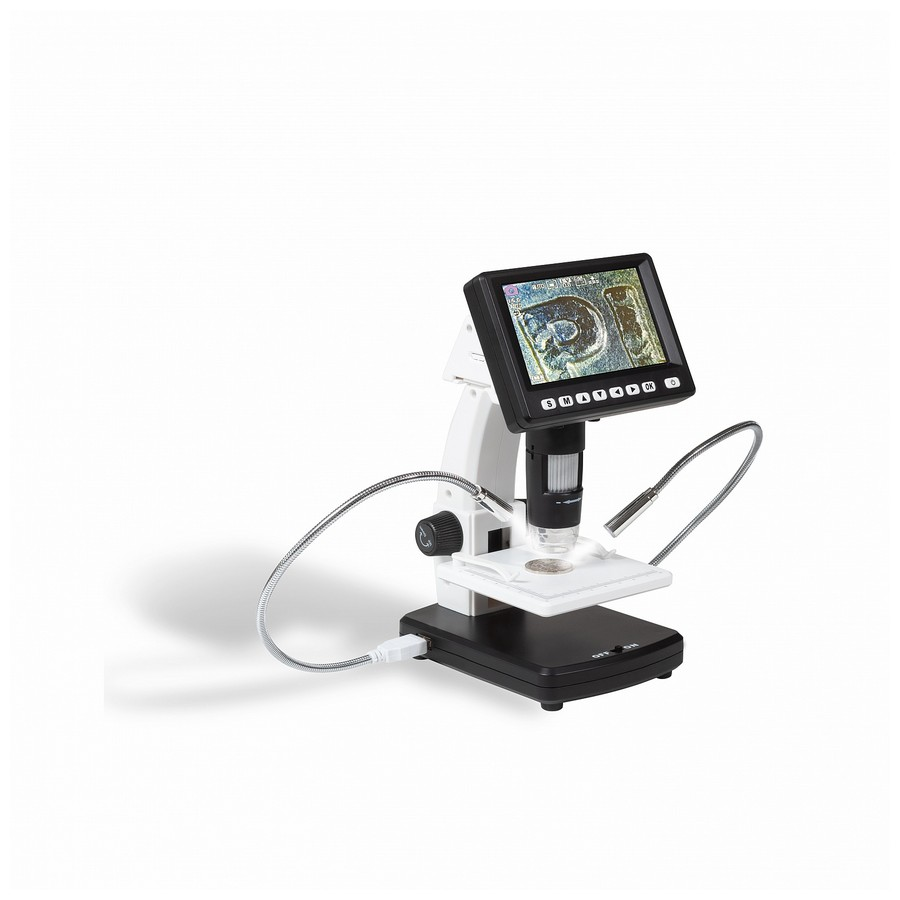 Leuchtturm Dm5 Lcd Digital Microscope In 2020 Digital Microscope Lcd Digital