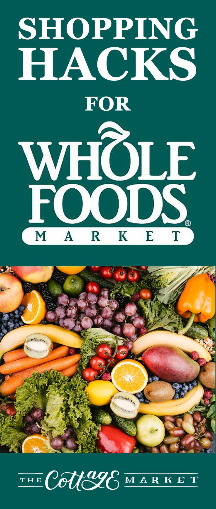 Shopping Hacks for Whole Foods Whole food recipes, Food