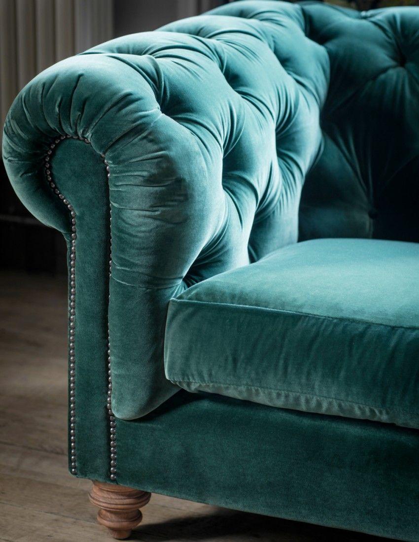 Velvet Chesterfield Sofa By Rose Grey Velvet Chesterfield Sofa Sofa Colors Chesterfield Sofa