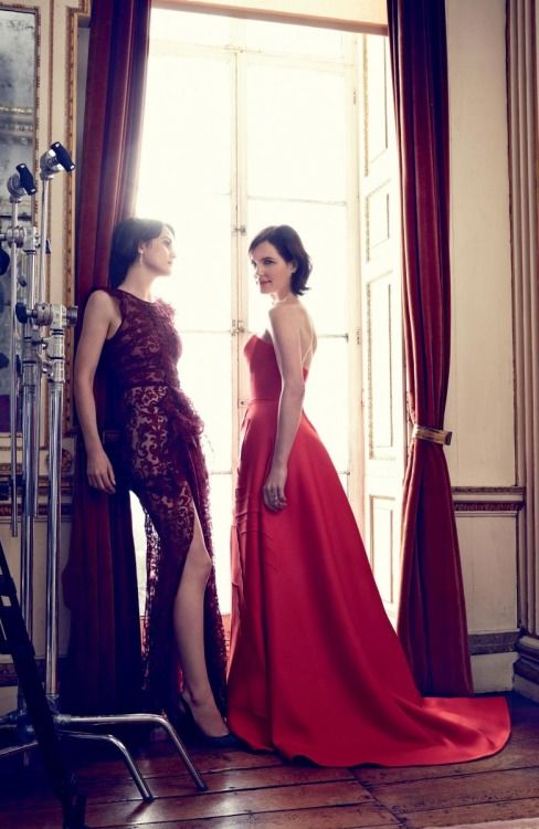 dailyactress:  Ladies of Downton Abbey by Alexi Lubomirski for Harper's Bazaar UK August 2014