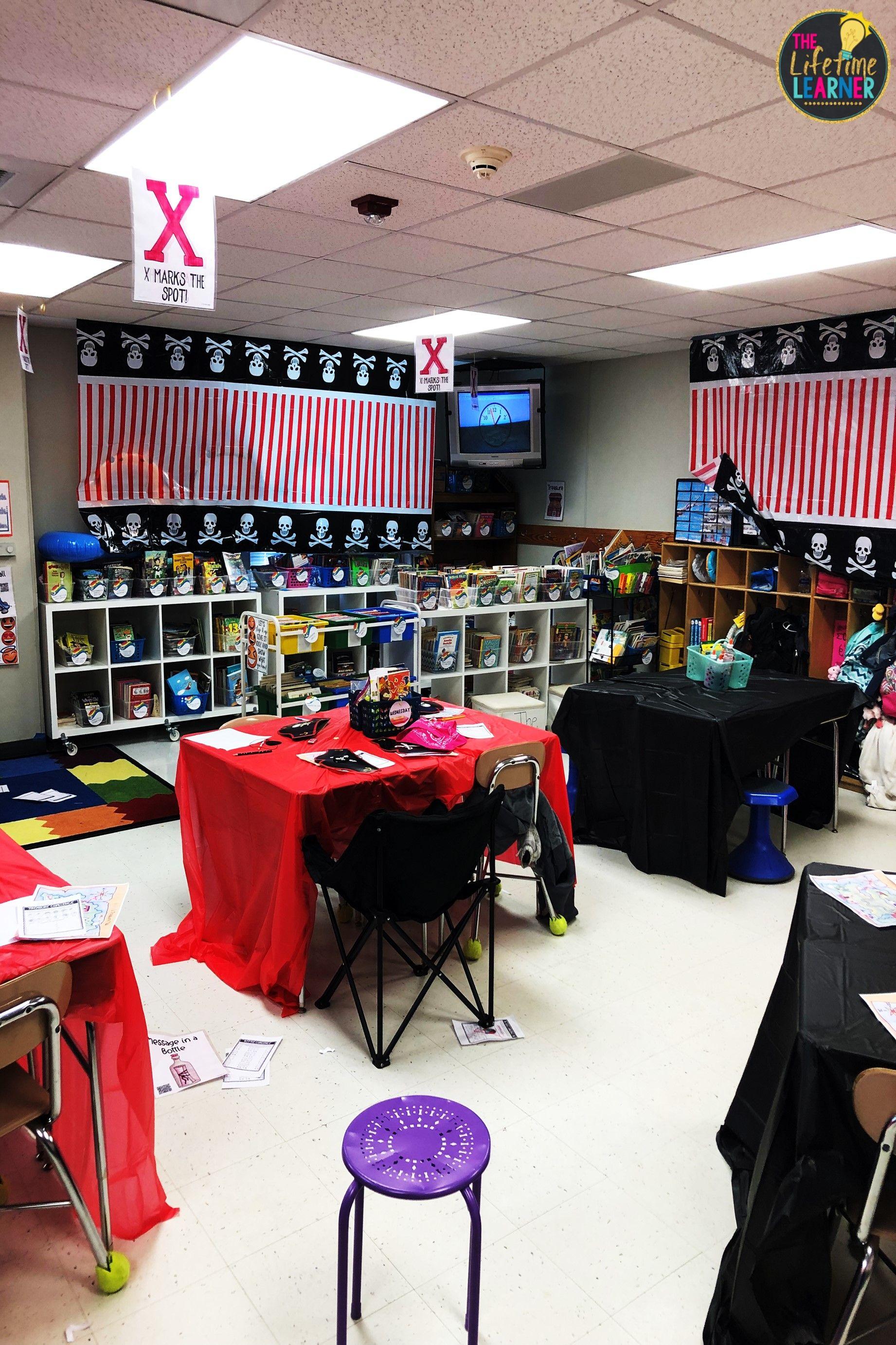 Pirate Classroom Transformation