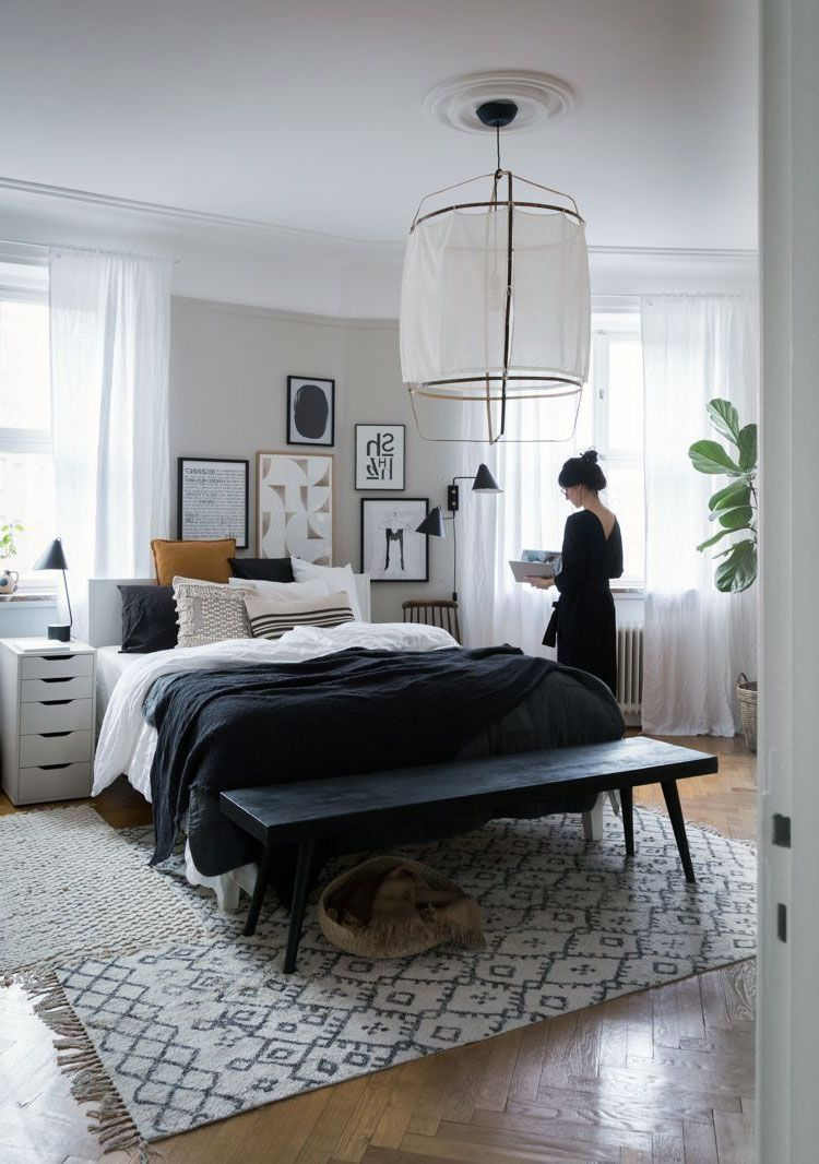34 Amazing Scandinavian Interior Bedroom Decor Ideas In 2020 Scandinavian Interior Bedroom Bedroom Design Bedroom Decor
