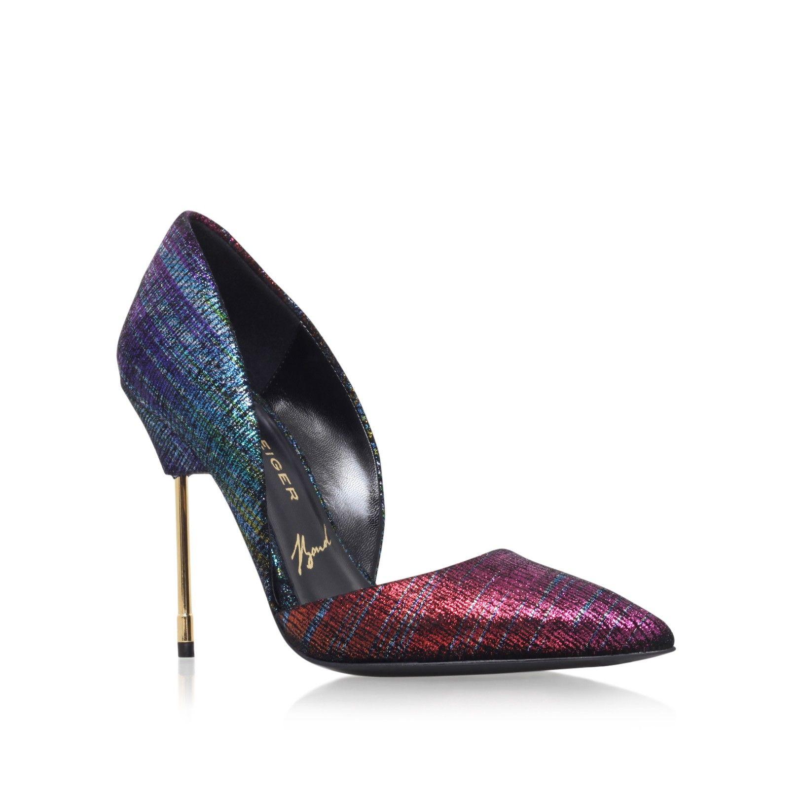 Multi coloured high heels
