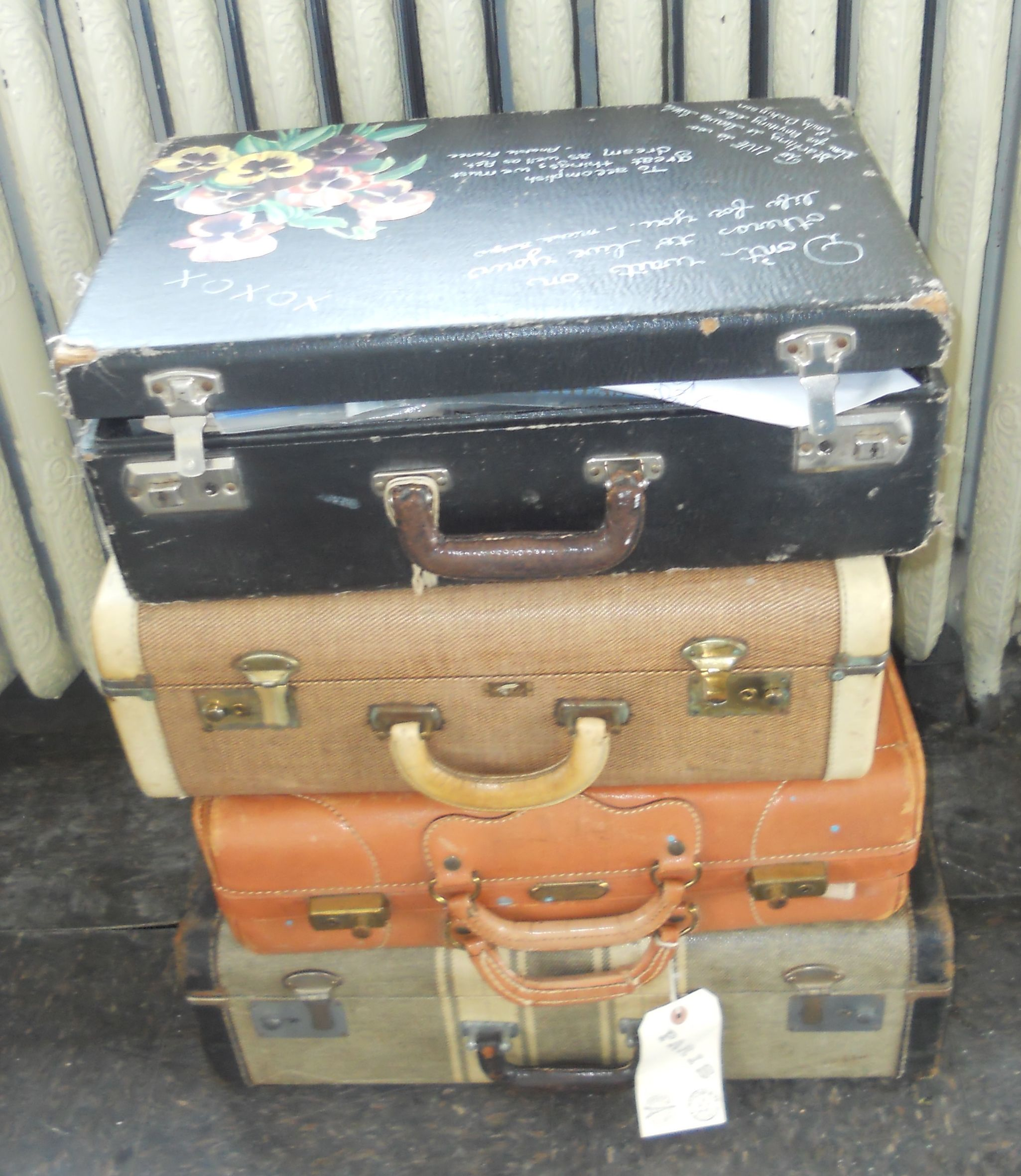 I can not get enough of old suite cases. There is always a NEED
