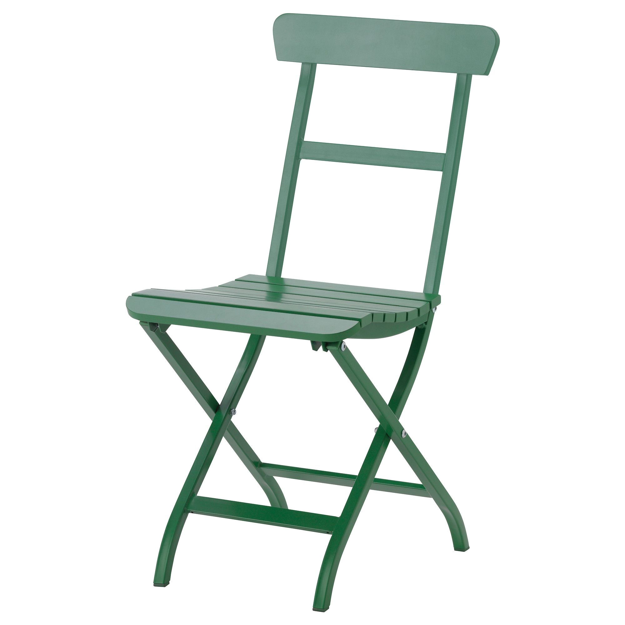 mlar folding chair green ikea