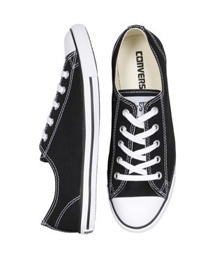 Chuck Taylor All Star Dainty Sneaker Black Footwear Clothing