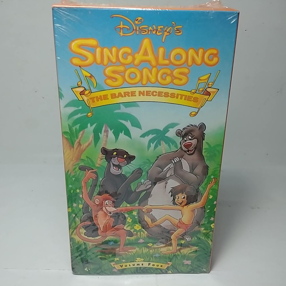 db55a3aab New and Sealed Disney s Sing Along Songs The Bare Necessities Vol 4 ...