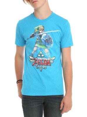 Nintendo The Legend Of Zelda: Skyward Sword Link Slim-Fit T-Shirt 2XL
