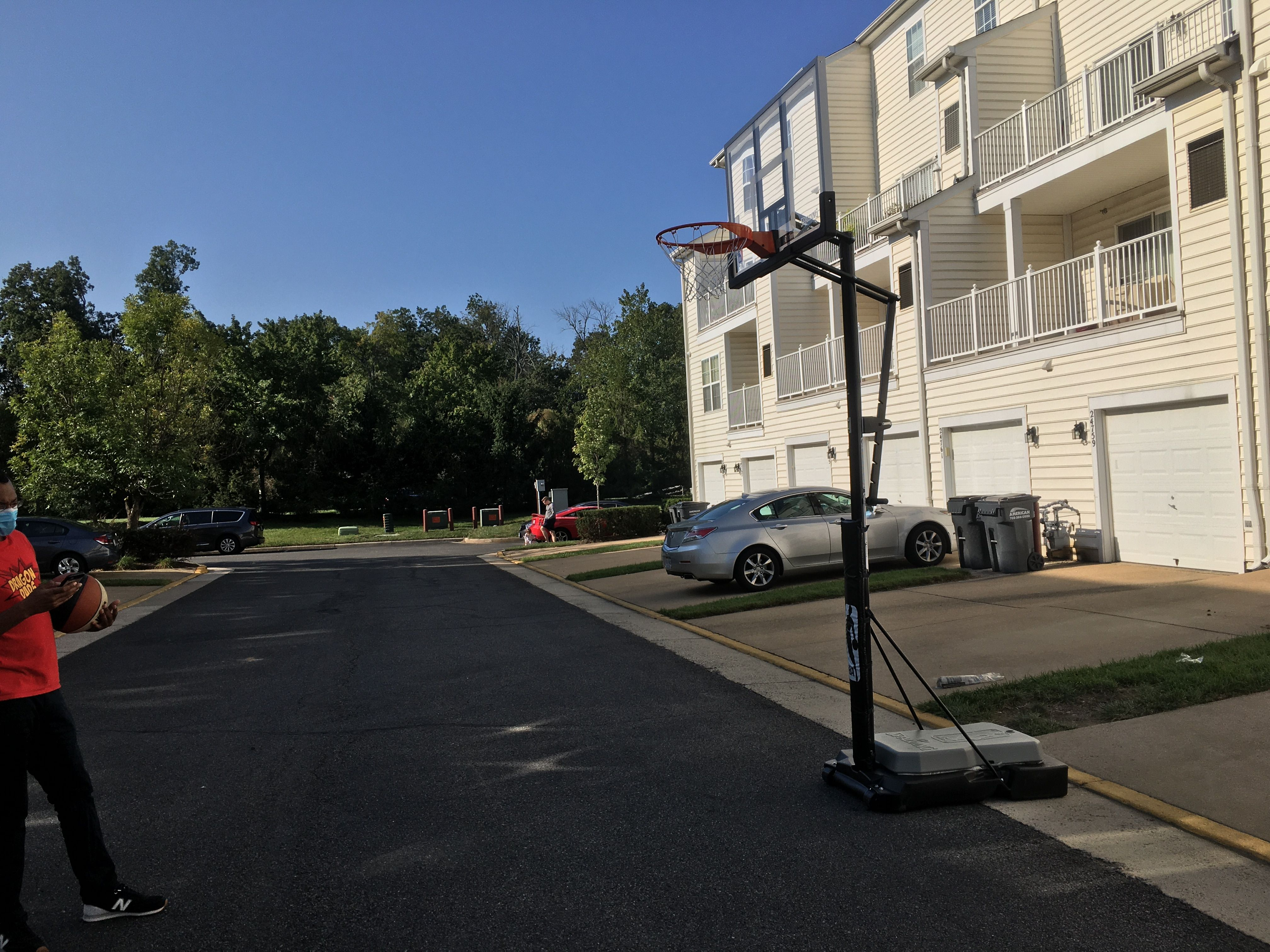 Portable Basketball Hoop Movers In Washington Dc Virginia And Maryland By Furniture Experts Movers Lexington Park Leesburg Virginia Fort Belvoir