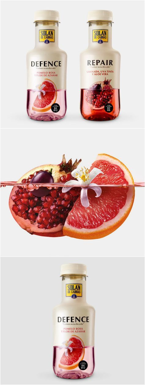 Packaging Design for Functional Fruit Waters with Health Benefits Spanish Packaging Design for Functional Fruit Waters with Health Benefits Design Agency: Enric Aguilera Asociados Project Name: Solan de Cabras Location: Spain Category: World Brand & Packaging Design SocietySpanish Packaging Design for Functional Fruit Waters with Health Ben...