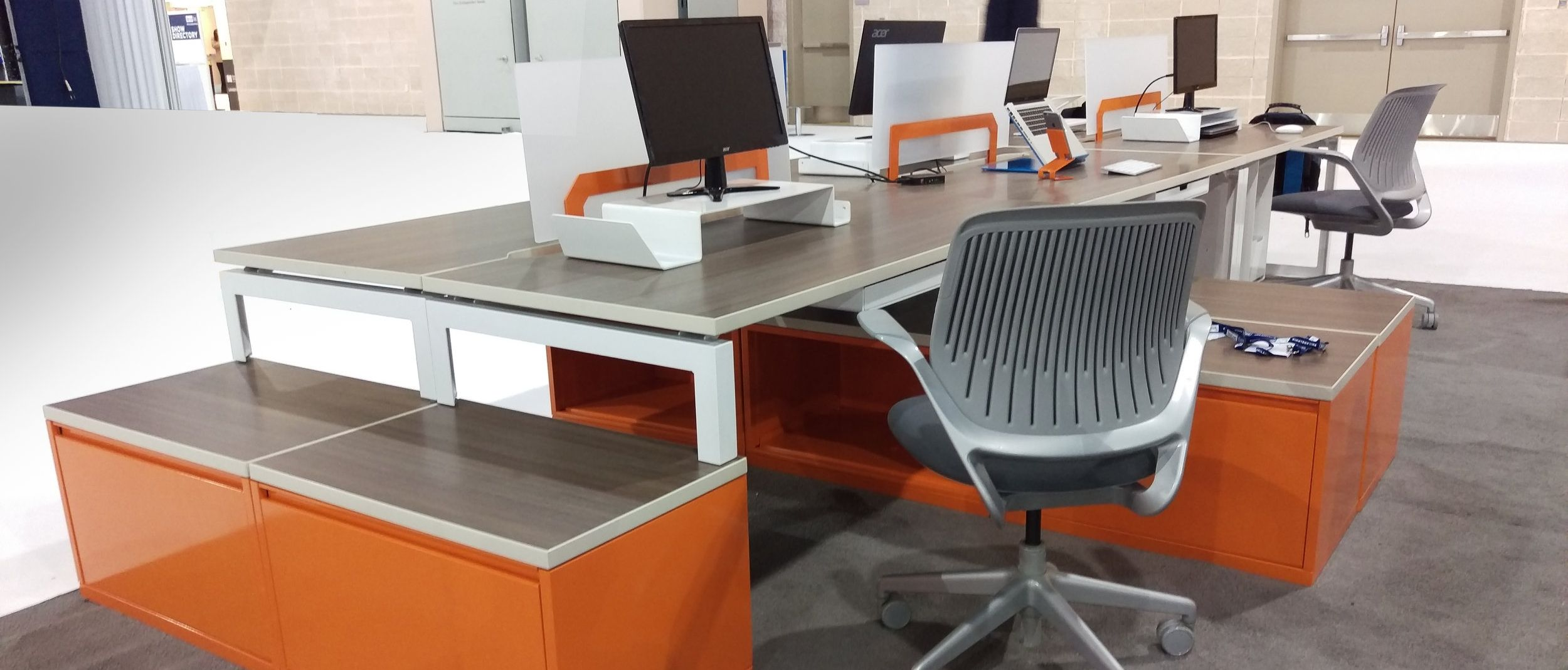 basic office desk. Montisa - Basic Desks/Files/Accessories Office Desk