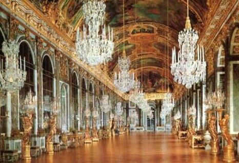 ~The Hall of Mirrors at Versailles~