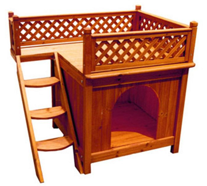 Nothing shouts quality, craftsmanship, and style louder than Merry Pet Dog Houses. You certainly know a Merry Pet when you see one and it is not...