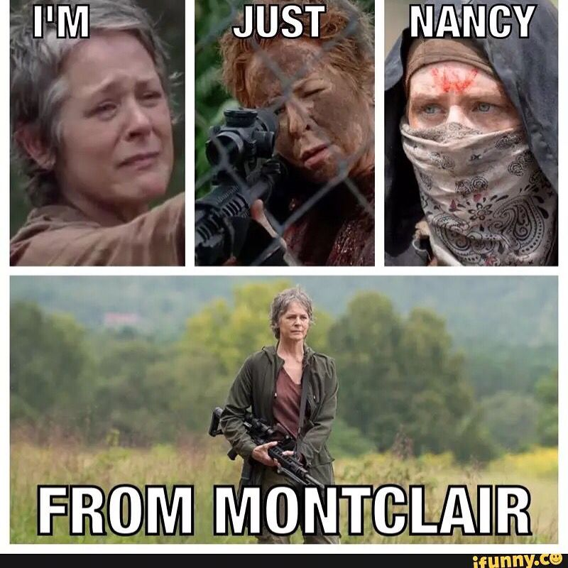 """I'm just Nancy from Montclair"" #twd The Walking Dead Carol season 6 episode 15"