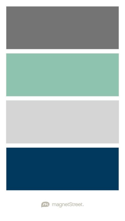 Dark Grey Seafoam Green Light And Navy Color Scheme For Boy Nursery Custom Palette Created At Magnetstreet