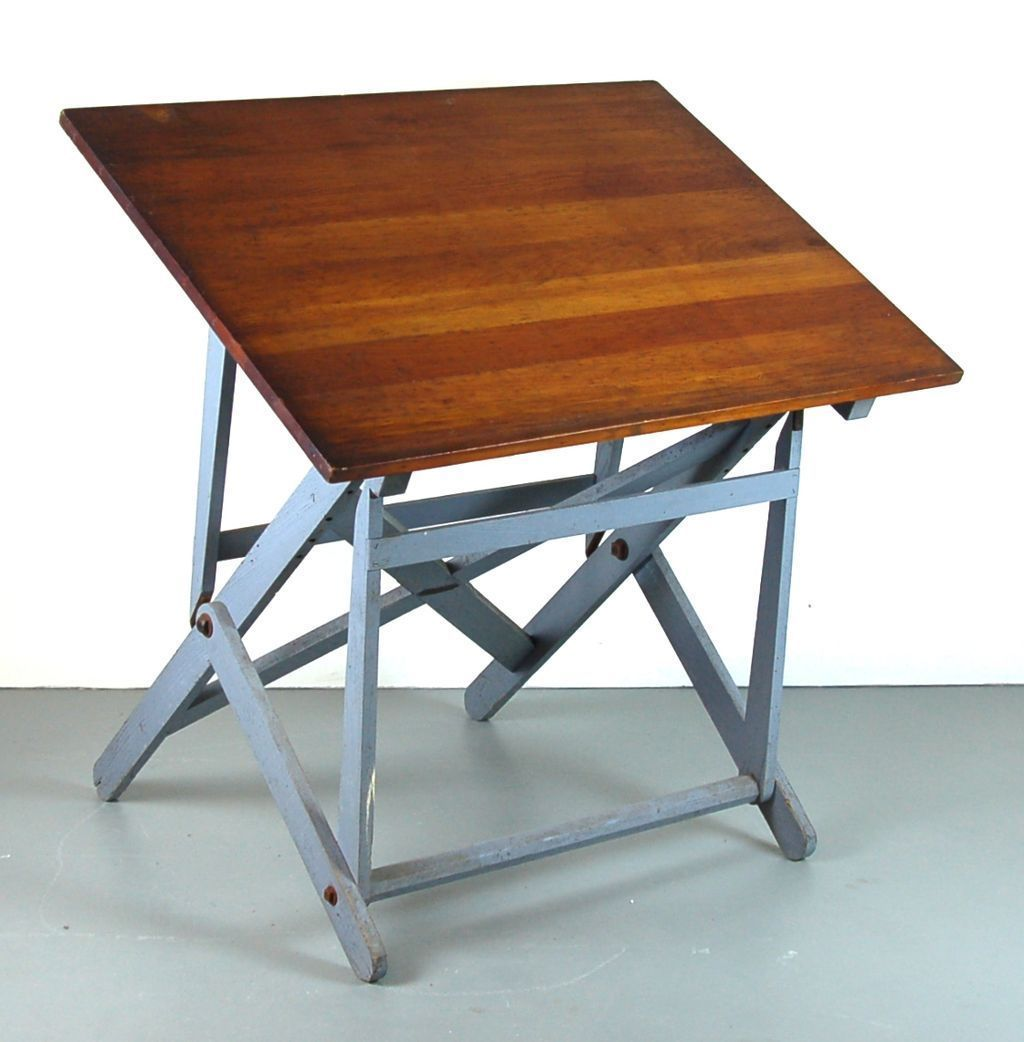 Vintage Tzgen Wood Folding Artist Drawing Drafting Table From Colinreedantiques On Ruby Lane