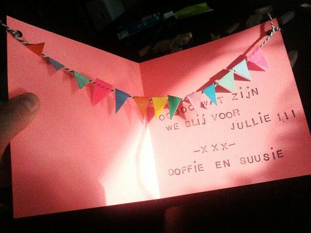 Geboorte kaartje voor Nia DIY Pinterest Tes, Met and Om