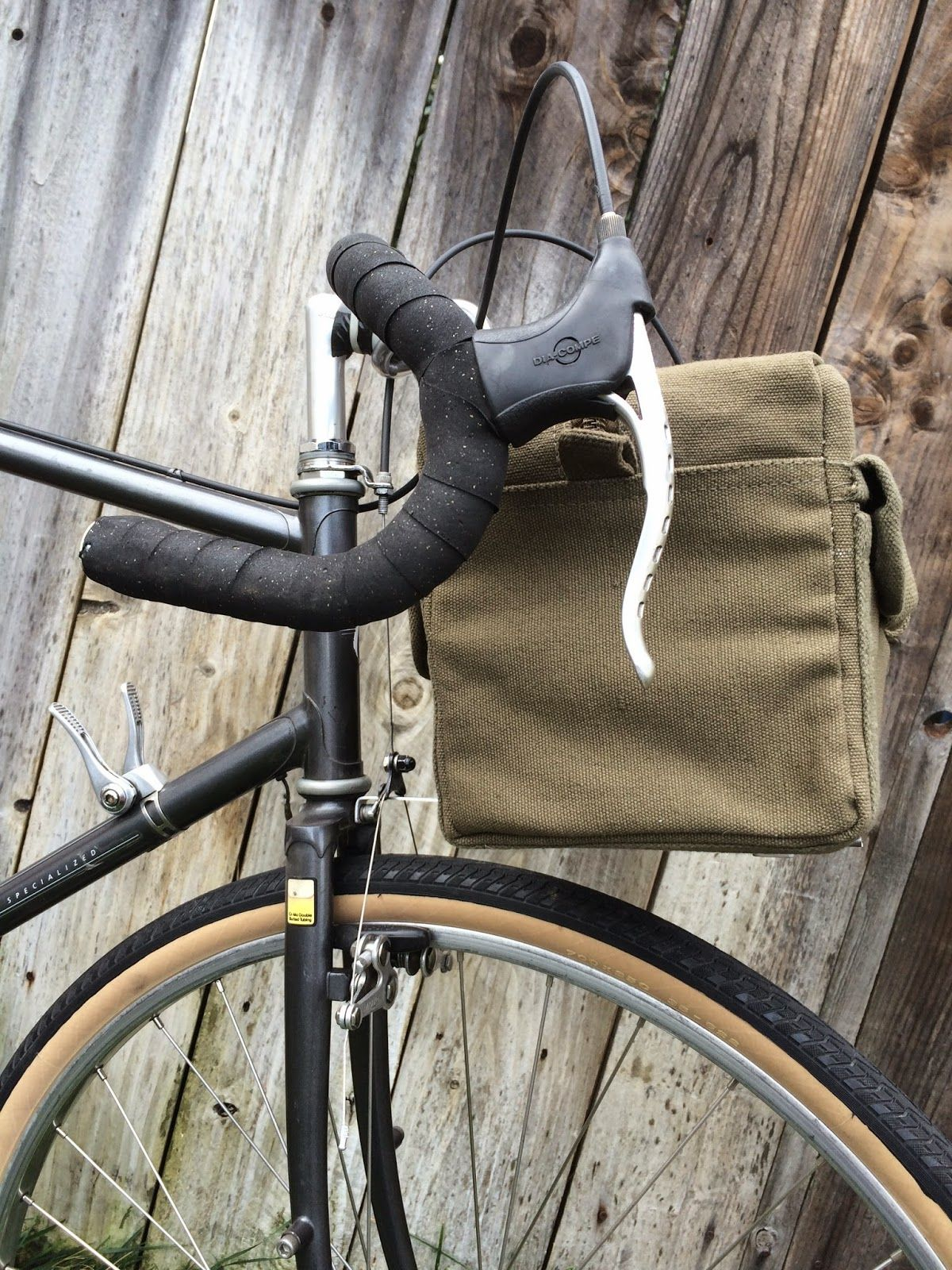 Diy Handlebar Bag And Support Rack Handlebar Bag Bike Bags