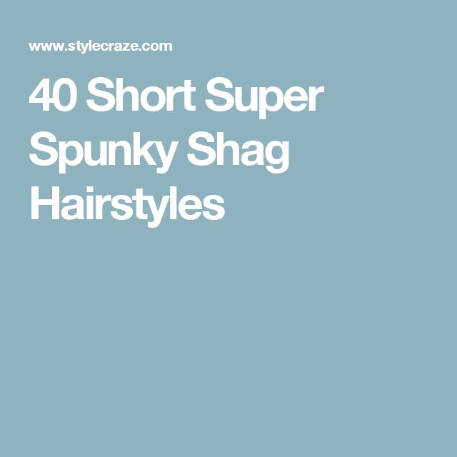 40 Short Super Spunky Shag Hairstyles Gallery