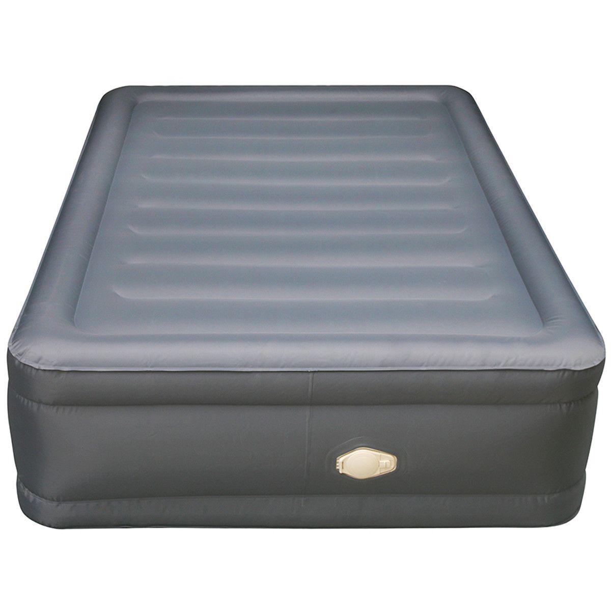 lustrous air mattress with memory foam mattress topper bedding