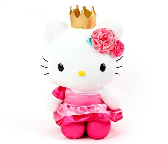Hello kitty 18 plush princess party hello kitty - Princesse hello kitty ...