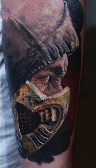 Mortal Kombat Scorpion Tattoo Scorpion Tattoo Mortal Kombat