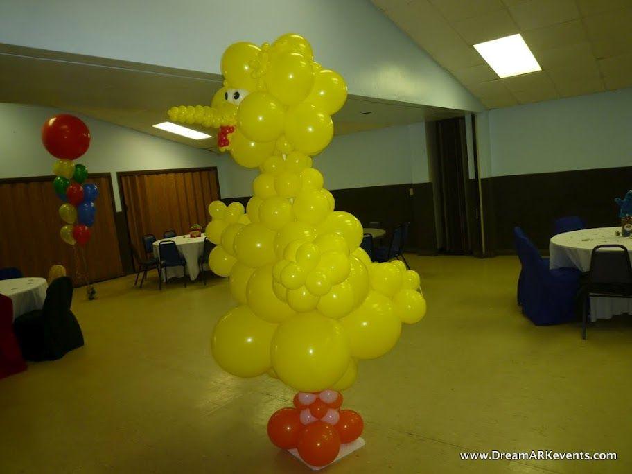 Big balloon Yellow Bird by DreamARK Events