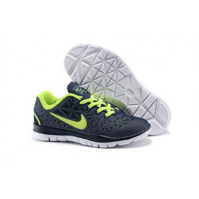 Nike Free Tr Fit Kid Navy Green Shoes Nike Free Green Shoes