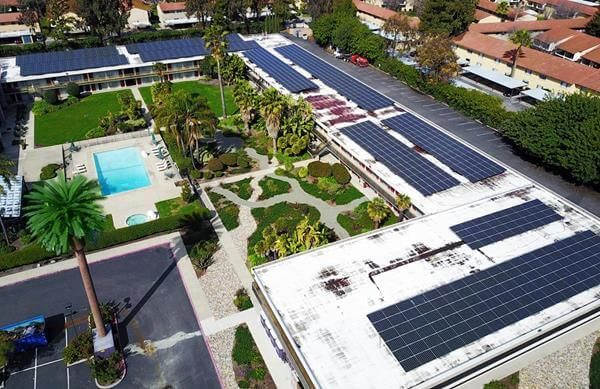 Silicon Valley Hotel Goes Green With Solar, EV Stations   Solar Industry
