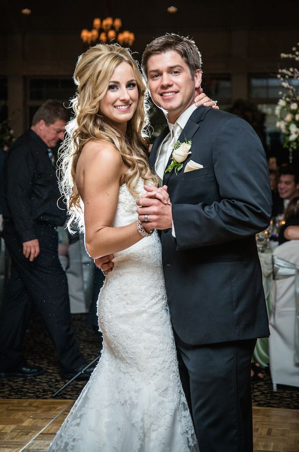 Real Wedding: Jessica and Zach | Wedding Dresses Michigan at Le ...