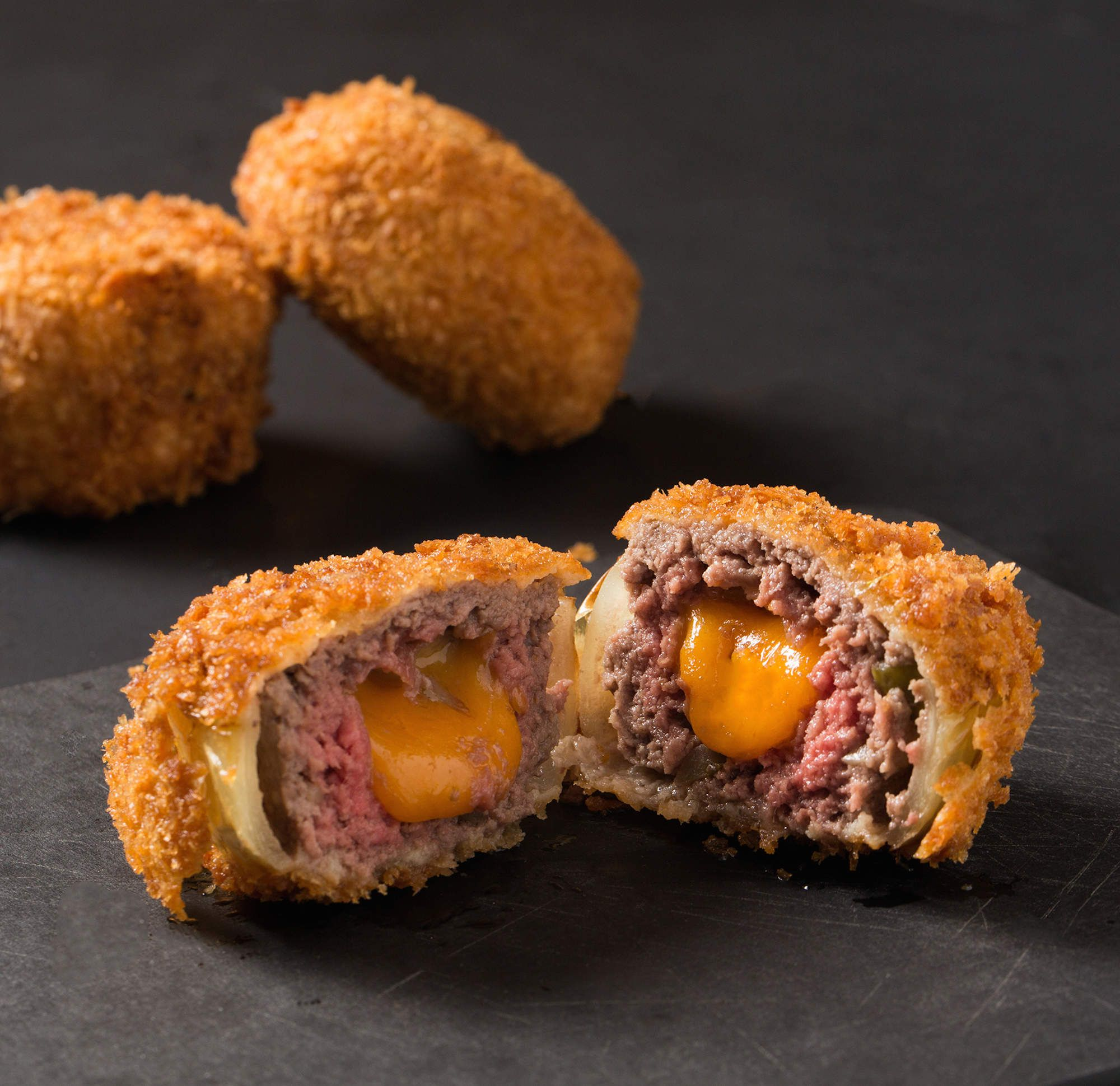 Cheeseburger Onion Ring Bites Are What Dreams Are Made Of