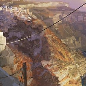 Concept Arts e Speed Paintings de Patrick Faulwetter