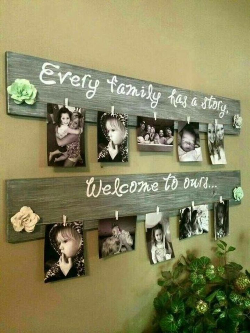 50 Amazing DIY Pallet Projects Ideas   Diy picture frames ...