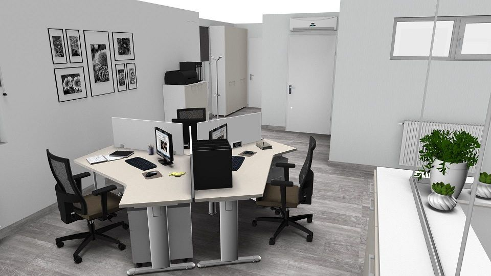 Operative office idea modern interior design restyling for Design interni ufficio