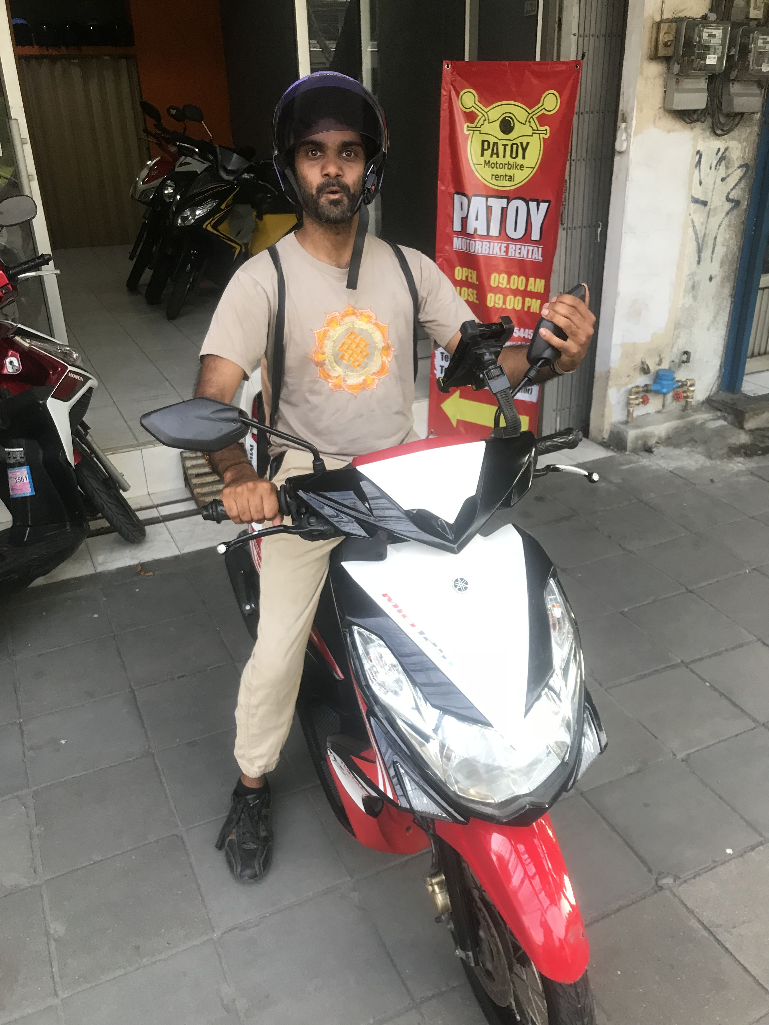 Motorbike Scooter Rental In Bangkok Our Happy Customer Thank