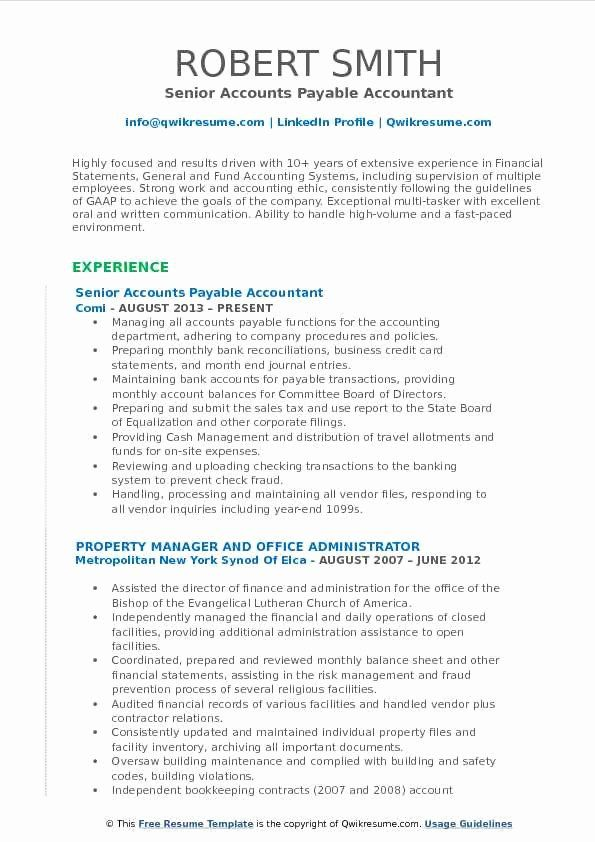 Accounts Payable Manager Resume Sample Accounts Payable Manager Resume Are You A Person With Excellent And Efficien Resume Examples Resume Resume Objective