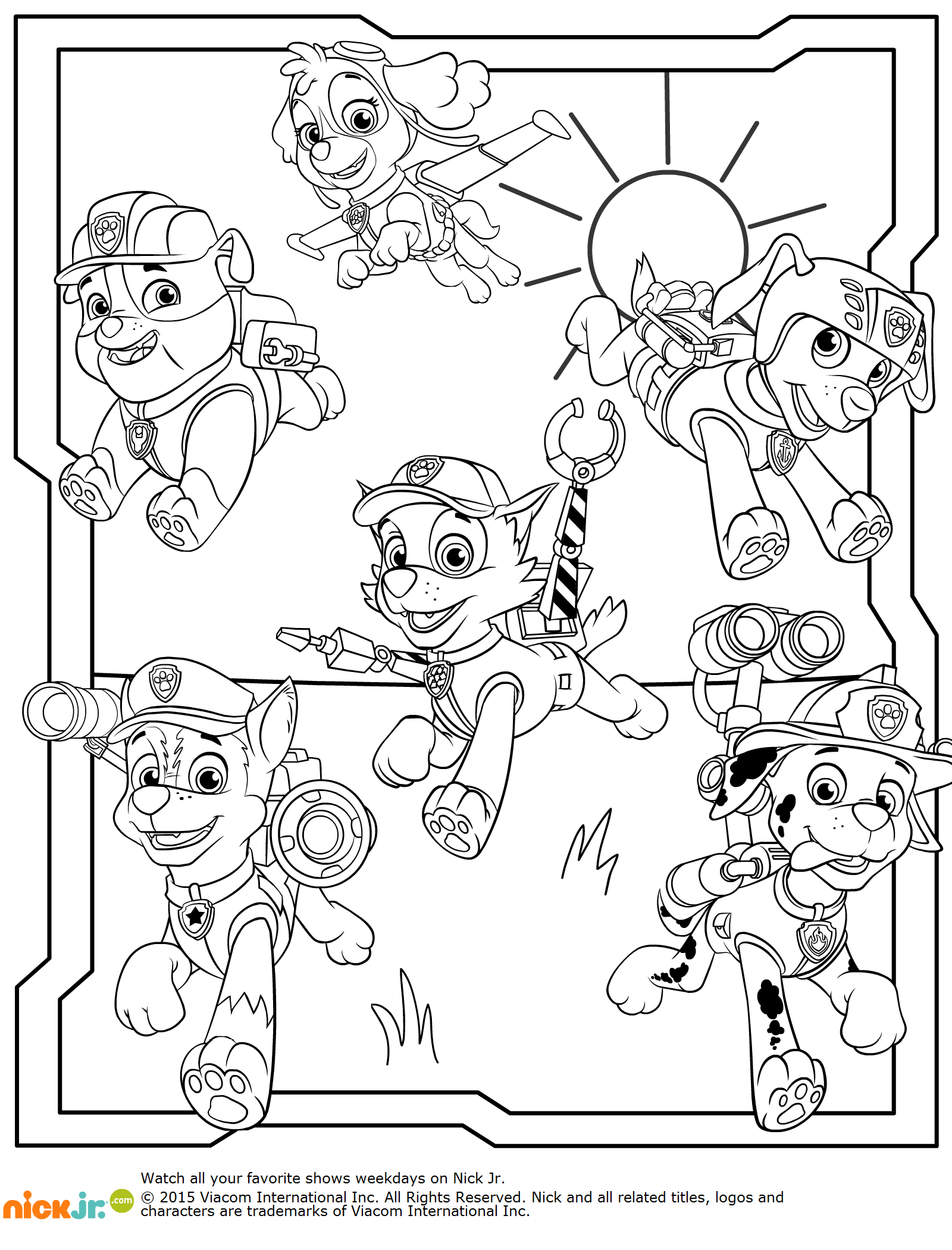 Pin By Zsuzsa Fulop On Mancs Orjarat Paw Patrol Coloring Cute Coloring Pages Detailed Coloring Pages