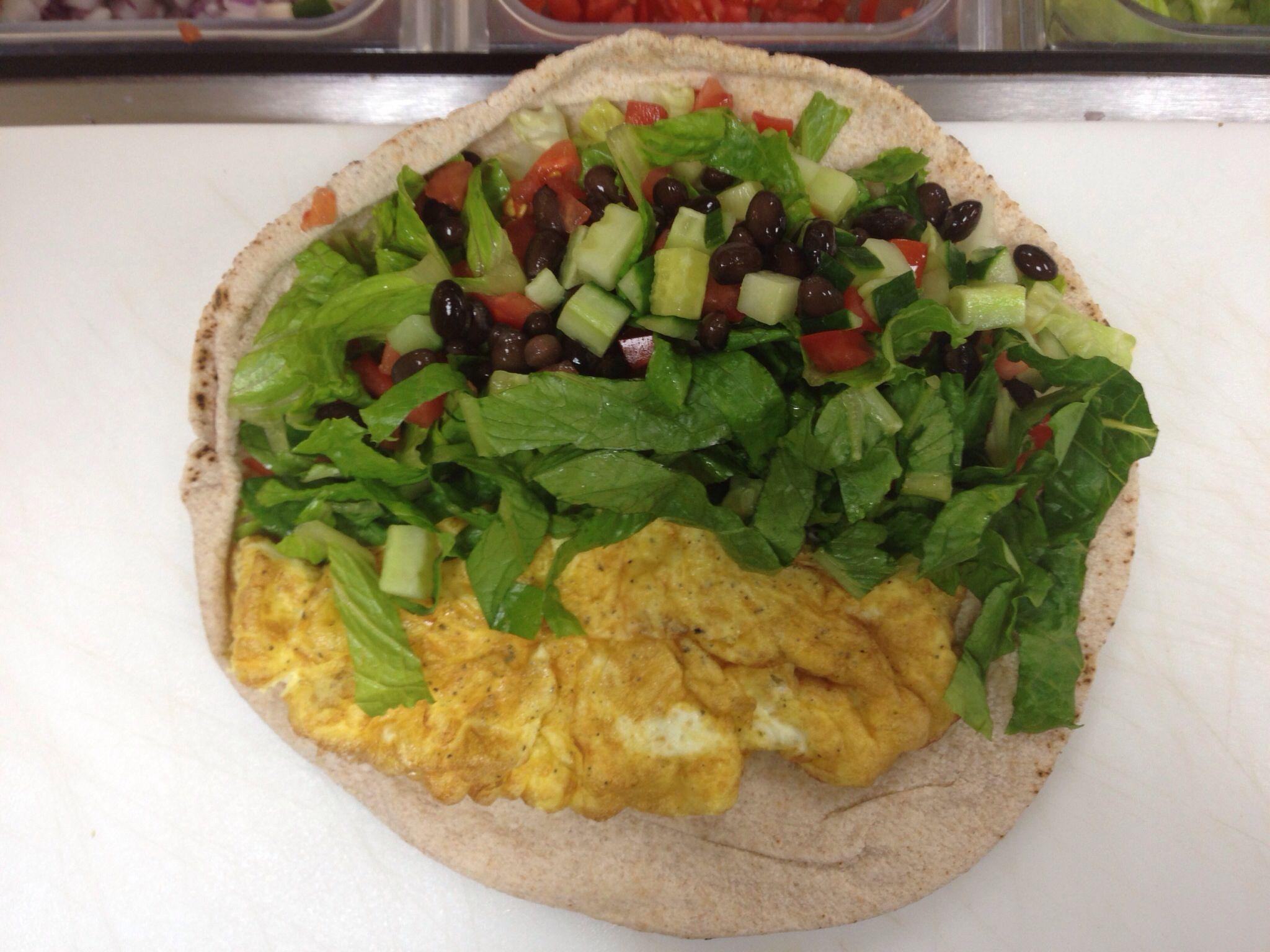 Omelette Wrap!