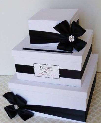 cajas para sobres, regalos en efectivo. bodas o 15 años - bsf 950,00