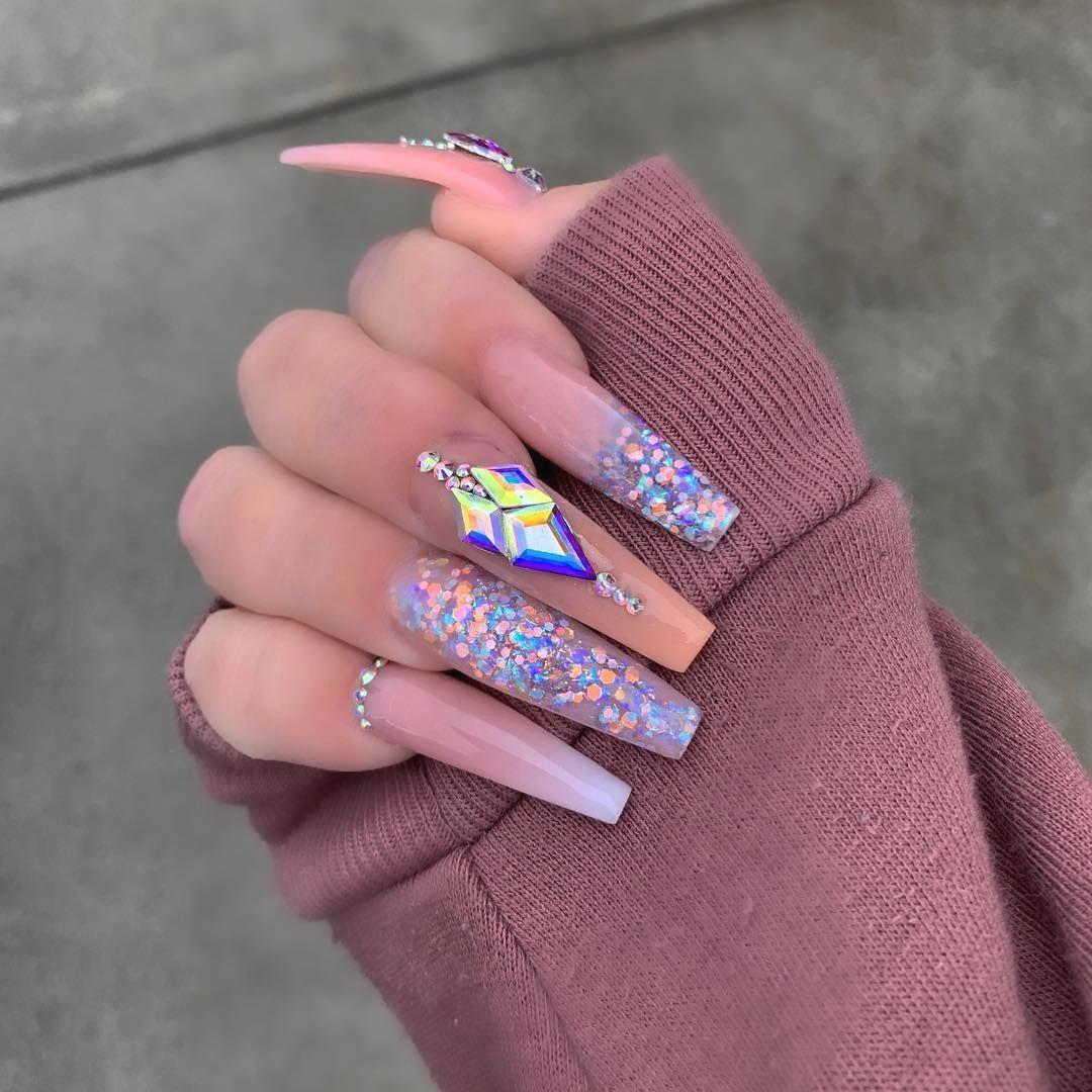 Pin By Sam Carlisle On Nail In 2020 Best Acrylic Nails Long Nails Pretty Acrylic Nails