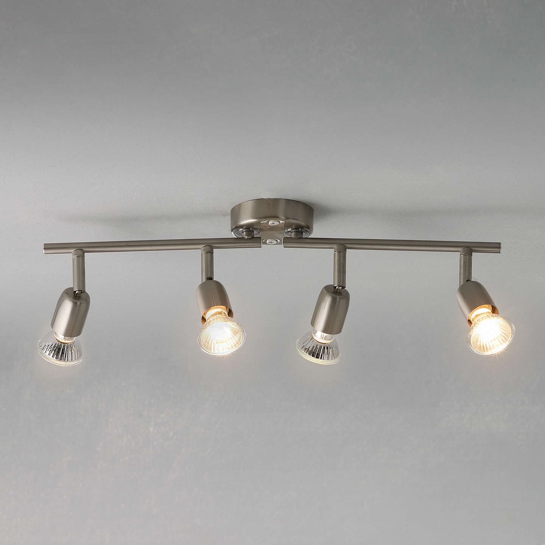 uk availability 6b61d ed71e John Lewis & Partners Thea GU10 LED 6 Spotlight Ceiling ...