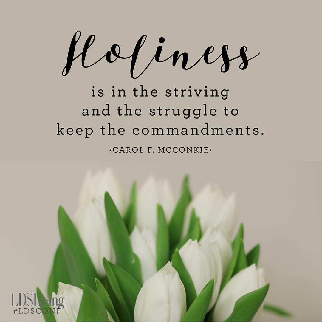 Image result for What is holiness? LDS
