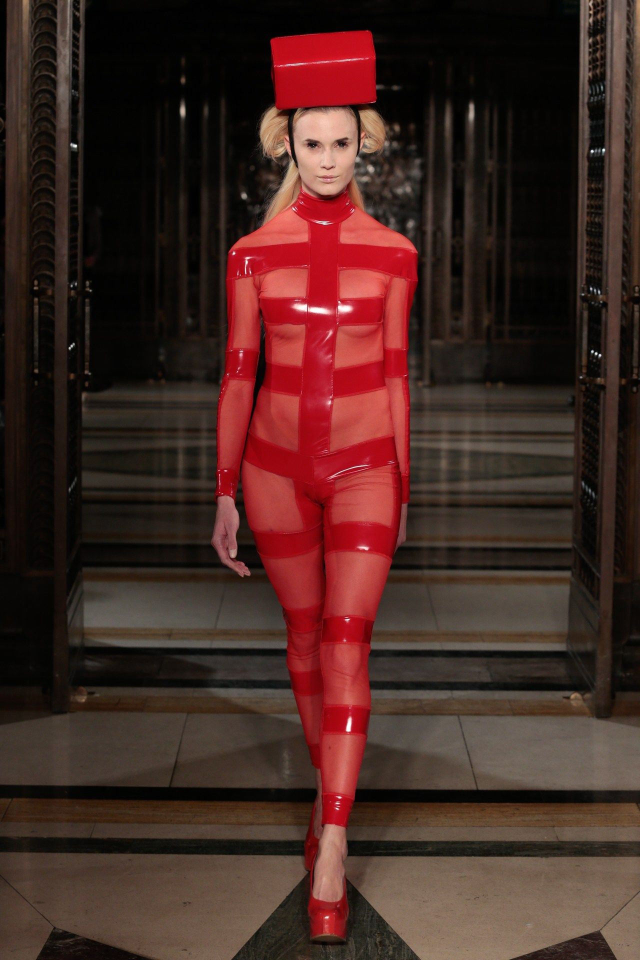 Best dresses to wear to a march wedding  Best Dressed of the Week    Pam hogg Suit pants and Couture