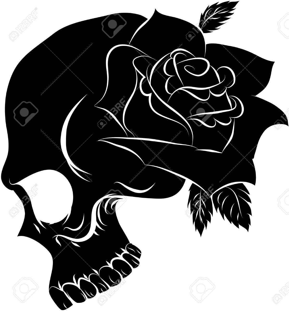 Skulls And Roses Drawings Easy Google Search To Draw Drawings