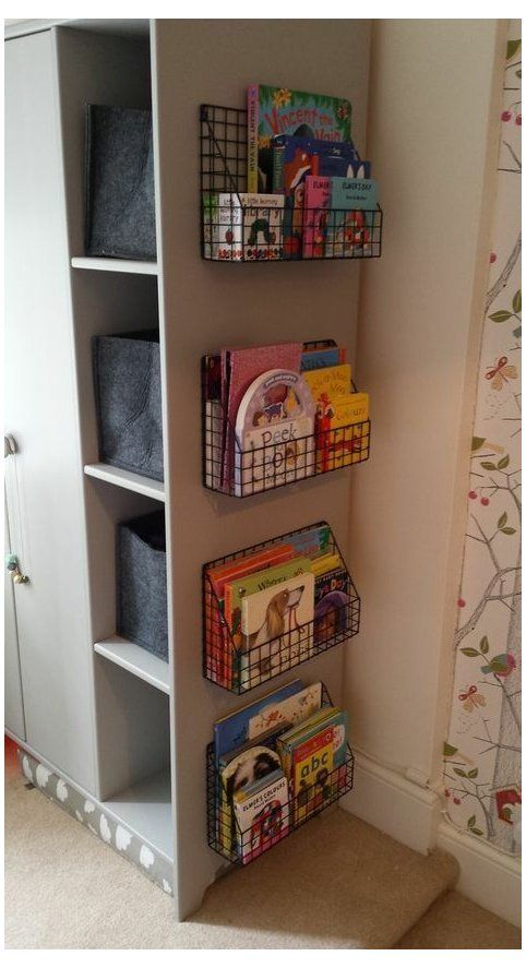 Photo of toddler toy organization bedroom